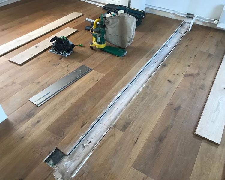 Visgraat vloer schuren door expert parket schuren hilversum